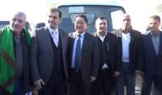 تسليم 3 شاحنات نقل نفايات مقدمة من الحكومة اليابانية لبلديات الشواغير