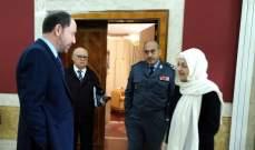 المقدح بعد لقاء بهية الحريري: تأكيد حفظ أمن المخيم والجوار