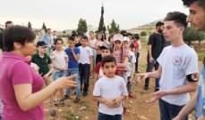 """نظارة التربية والشباب في """"الحزب السوري القومي"""" نظمت نشاطاً بيئياً في منفذية سلمية"""