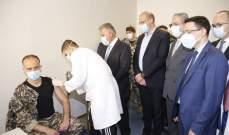 انطلاق حملة تلقيح العسكريين والقطاع العام في المركز الصحي للجامعة اللبنانية
