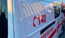 الصليب الأحمر: نقل 6 جرحى من جراء انفجار قارورة غاز في منطقة الدكوانة