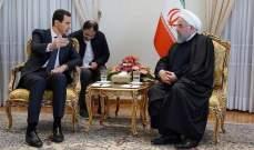 صحیفة إيرانية: زيارة الرئيس الأسد لطهران اتسمت بالسرية التامة حفاظا على حياته