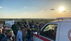 الدفاع المدني: جريحان جراء حادث مروري على اوتوستراد صيدا صور