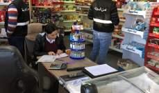 جولة ميدانية لمراقبي وزارة الاقتصاد في محافظة عكار