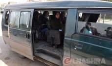 """النشرة: أهالي البقاع الغربي يطالبون بوقف """"فانات"""" الركاب من المرج إلى القرعون خوفا من كورونا"""