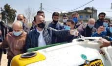 مرتضى أطلق ورش رش المبيدات في وادي خالد وعكار: ما من خيار آخر غير تشكيل حكومة