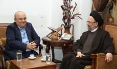 فضل الله استقبل التقى أمين عام الحزب الديمقراطي اللبناني