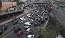 التحكم المروري: حركة المرور كثيفة من الدورة وصولا الى جل الديب