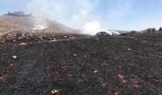الدفاع المدني: إخماد حرائق مختلفة في إبل السقي وميس الجبل وعيتا الشعب وبكاسين