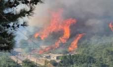 المدير الإقليمي للدفاع المدني في القبيات: مستوى النار وصل بالأيام الماضية إلى 25 و30 متراً