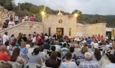 بو جودة يدشن كنيسة مار يوحنا رشعين: لنصمد بقوة امام كل المغريات
