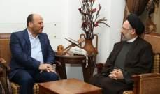 فضل الله استقبل وفدا من حماس برئاسة عبد الهادي