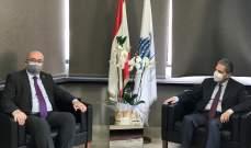 سفير بريطانيا زار وزني: التدقيق الجنائي يشكل أحد مكونات الحل مع صندوق النقد