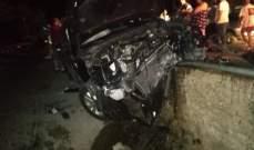 الدفاع المدني: ثلاثة جرحى جراء حادث سير في حراجل