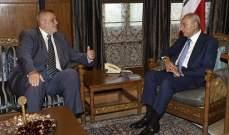 بري التقى كوبيتش وسفراء هولندا وتشيلي والشيخ علي الخطيب