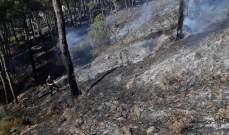 الدفاع المدني: 18 ساعة عمل لإخماد حريق بلدات الشبانية وقبيع والخريبه