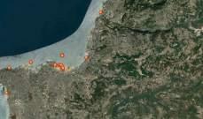 جامعة البلمند باشرت تحليل عينات مياه البحر والرواسب حول موقع الانفجار