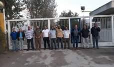 إعتصام لعمال شركة alutex للالمنيوم احتجاجا على استبدالهم بعمال اجانب