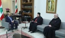 الرئيس عون تلقى دعوة لحضور رسامة المطران أنطوان عوكر معاونا ونائبا بطريركيا