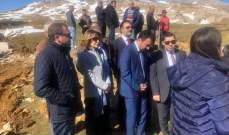 محافظ جبل لبنان يقوم بجولة انمائية بالمتن برفقة مستشار رئيس الجمهورية