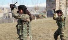 زوجة باشينيان: سأدخل دورة تدريب عسكري وأمضيلحماية حدود الوطن بكاراباخ