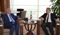 الصفدي بحث مع سفير بريطانيا في الشأن اللبناني وامور تهم طرابلس