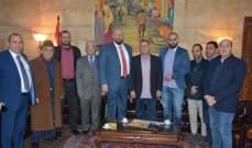 نهرا لنقابة صائغي وبائعي المجوهرات: علينا المحافظة على سوق الذهب التراثي في طرابلس