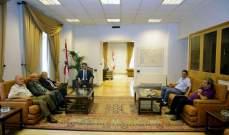 شبيب التقى وفدين من نادي بيروت لكرة السلة والمجلس الارثوذكسي اللبناني