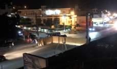 النشرة: قطع طريق المنارة البقاع الغربي بالخيم