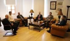 نقابة مالكي الأبنية المؤجرة زارت محافظ بيروت وشرحت أوضاع المؤجّرين