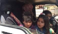النشرة: وصول 24 آلية للنازحين الى منطقة حدودية مع سوريا بجرود نحلة
