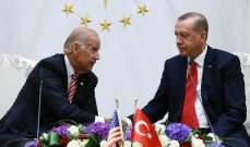 الرئاسة التركية: إردوغان وبايدن اتفقا باتصال على إرساء تعاون أوسع