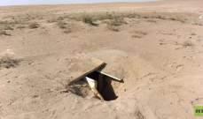 """الداخلية العراقية: العثور على مخابئ لـ""""داعش"""" في الصحراء"""
