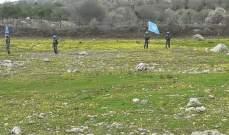 النشرة: قوة إسرائيلية مشطت الطريق العسكري المحاذي للسياج الحدودي عند تخوم شبعا