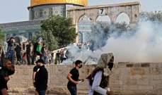 الهلال الأحمر الفلسطيني: نقلنا 50 إصابة للمستشفيات في القدس حتى الآن