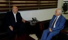 حمدان بعد لقائه جبق: المسؤولية المتعلقة بالواقع الصحي هي عبء ثقيل