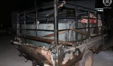 الجيش:ضبط بيك أب محمل بالمازوت أثناء محاولة تهريبه لسوريا وتوقيف شخصين