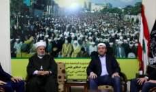 جبهة العمل الاسلامي تبحث الشؤون الاسلامية المشتركة مع الادارة الدينية في داغستان