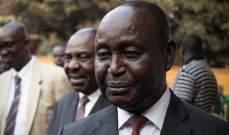 حكومة إفريقيا الوسطى اتهمت رئيس البلاد السابق فرانسوا بوزيزي بالتخطيط لانقلاب