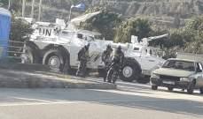 النشرة: دورية إسرائيلية مشطت الطريق العسكري ما بين مستعمرة المطلة وتلال العديسة