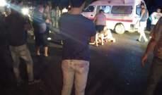 النشرة: قتيل و4 جرحى نتيجة حادث صدم على طريق عام كفرفالوس - جزين