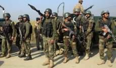 الجيش الباكستاني أعلن انقاذ أربعة جنود إيرانيين من قبضة جماعة مسلحة