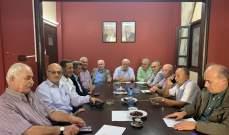 قيادة فصائل منظمة التحرير الفلسطينية تؤكد إنحيازها للاستقرار في لبنان