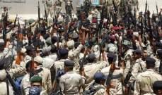 الميادين: الحشد الشعبي العراقي يقصف بالمدفعية أهدافا لداعش في منطقة الباغور السورية