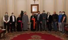 الراعي التقى مفتي روسيا وتشديد على دور رجال الدين بتعزيز حوار الشعوب