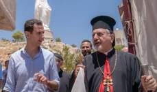 الاسد: المسيحيون في سوريا ليسوا طارئين في هذه الأرض