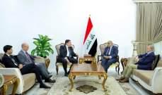 عبد المهدي بحث بتداعيات أزمة النووي الإيراني مع سفراء ثلاث دول أوروبية