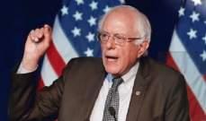 ساندرز: نتائج الإنتخابات النصفية رسالة واضحة من الشعب ضد ترامب