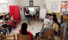 ورشة تدريب للأطفال حول مخاطر المخدرات في مركز مدى