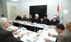 اللقاء التشاوري لملتقى الأديان والثقافات: ليتحمل الجميع مسؤولية انقاذ هذا الوطن